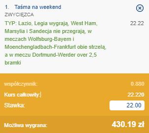 taśma na weekend 16.04.2021, ss1