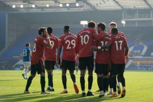 Manchester United po zdobytym golu - kupon na LE 08.04