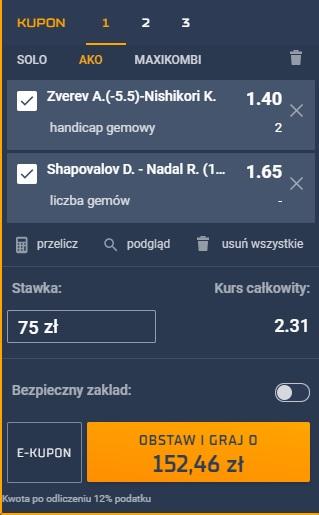 13.05 - tenis