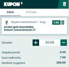 Robert 3 gole BETFAN na 22.05.