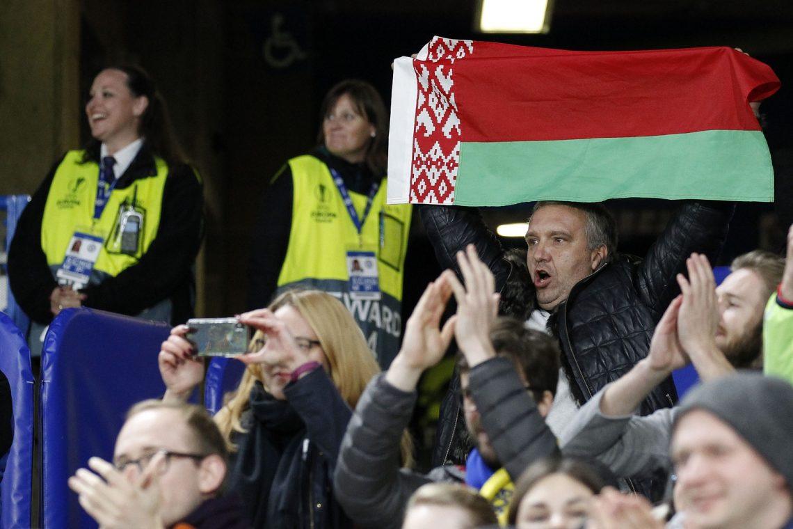 Białoruś flaga