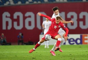 Białoruś vs Gruzja piłka