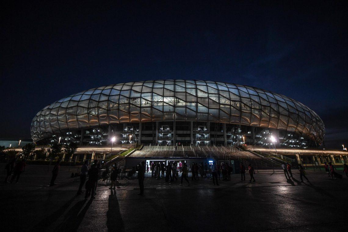 Stadion Dalian Chiny