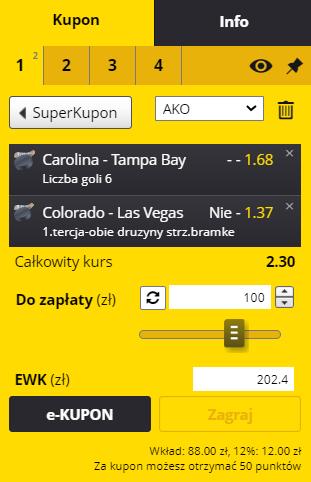 EFORTUNA 30.05 NHL