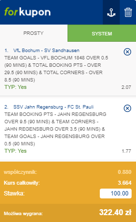 2. Bundesliga na 23.05. Forbet