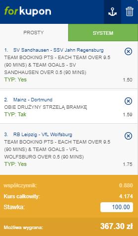 Bundesliga Forbet na 16.05.