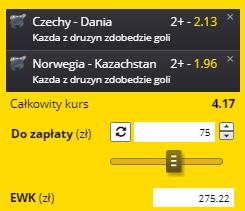 MŚ hokej na 31.05. Fortuna gole