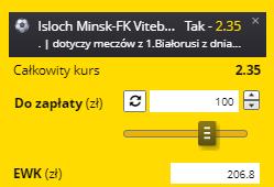 AKO 19.05. Fortuna Białoruś