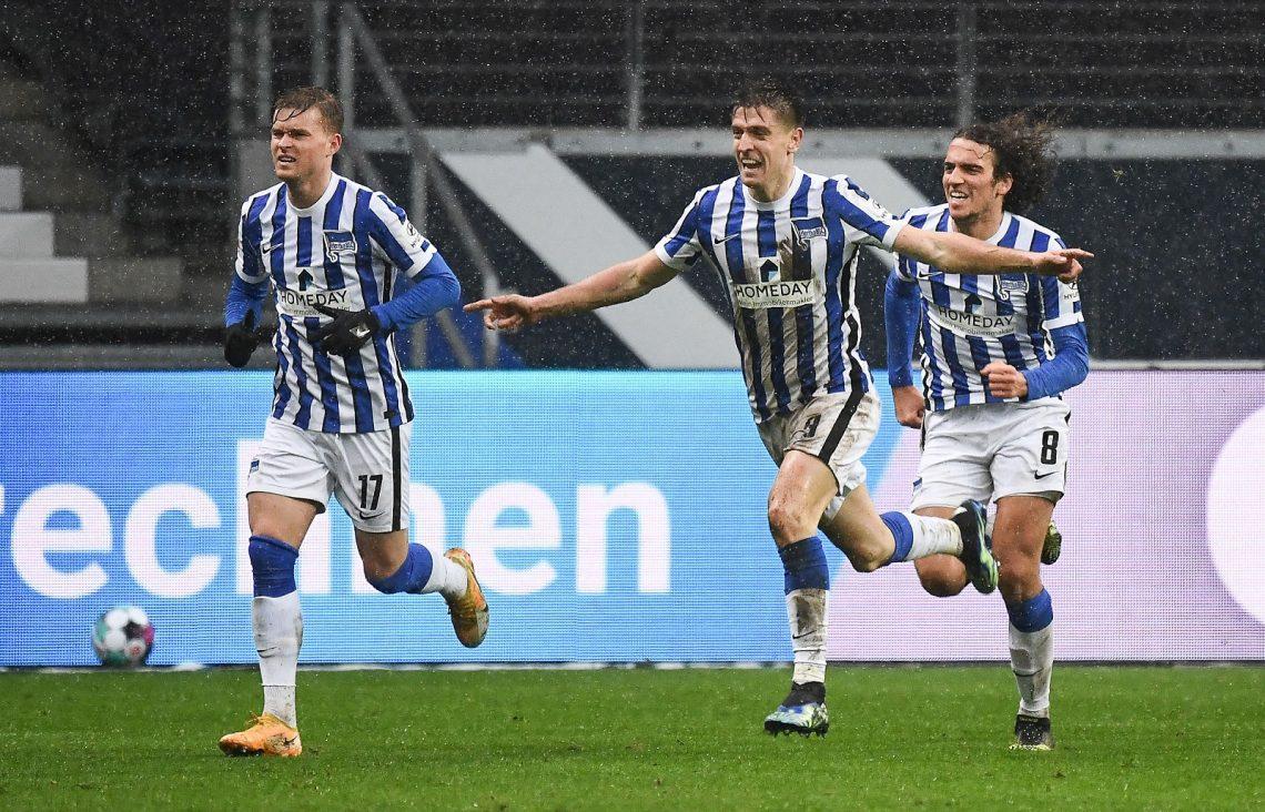 Hertha BSC we Frankfurcie