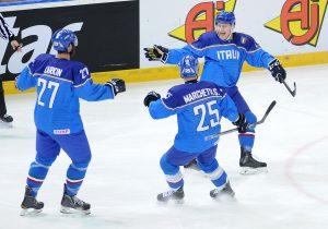 Włochy zawodnicy hokej