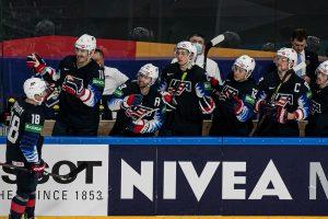 Zawodnicy USA hokej
