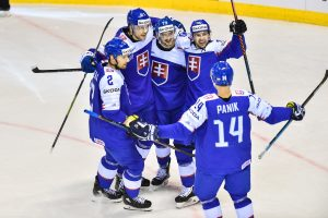 Słowacja zawodnicy hokej