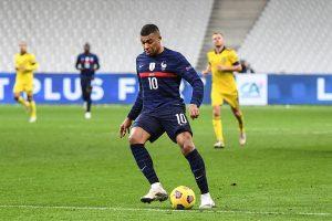 Mbappe mecz Francja