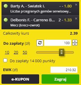 Tenis Iga vs Barty