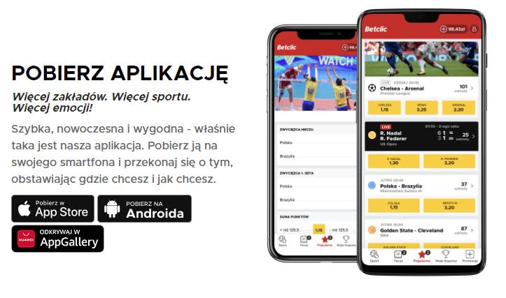 betclic - aplikacja