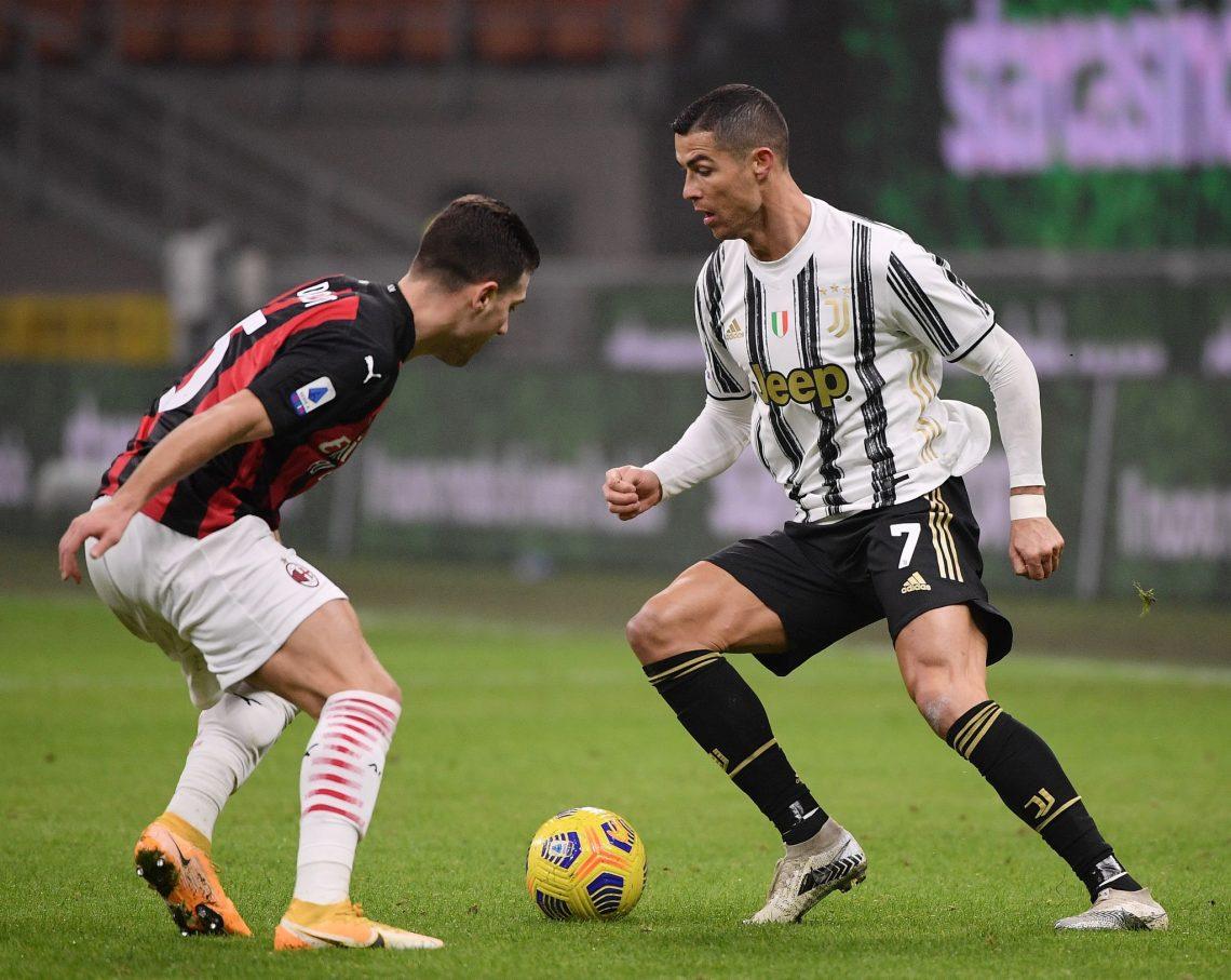 Cristiano Ronaldo i Diogo Dalot