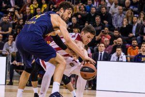 Ante Tomić (Barcelona), Artūras Gudaitis (Olimpia Mediolan)