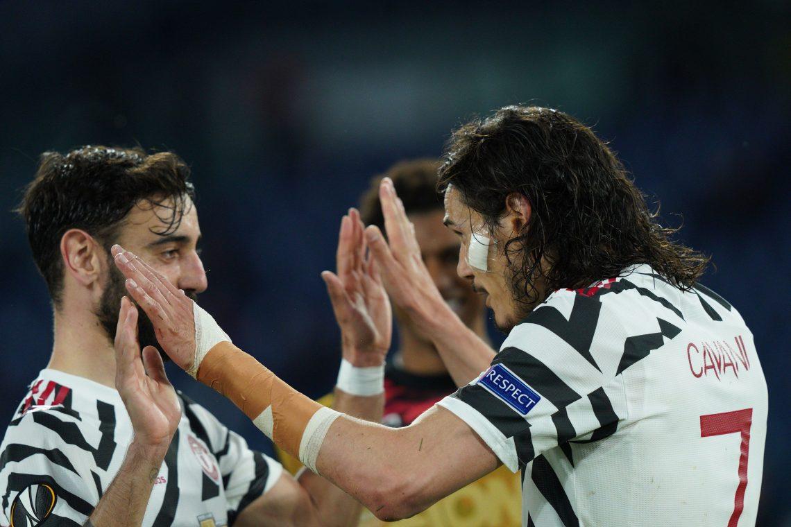 Cavani i Bruno - Manchester United vs Leicester City 11.05