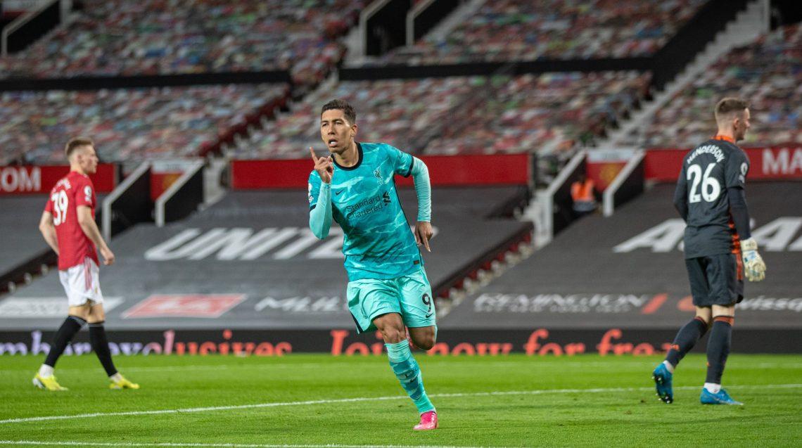 Roberto Firmino po strzelonym golu - kupon PL 23.05