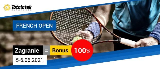 totolotek tenis grafika bonusowa