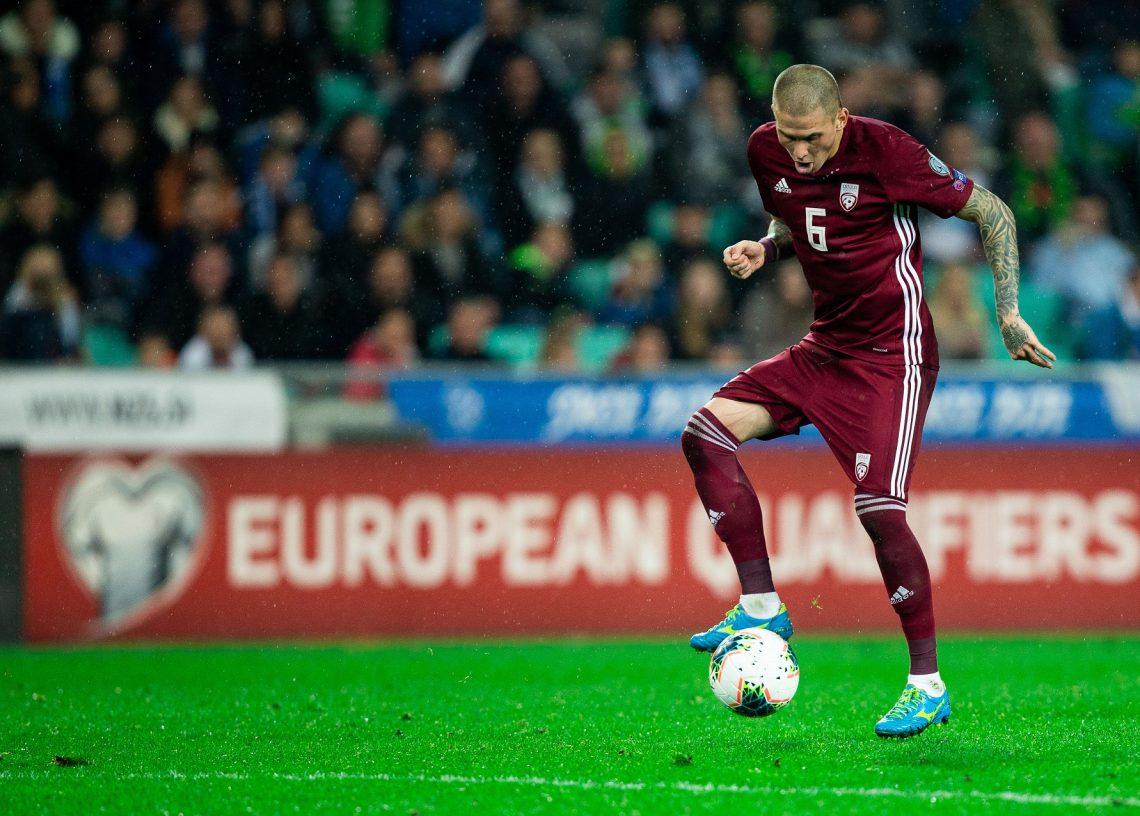 Łotwa piłka nożna