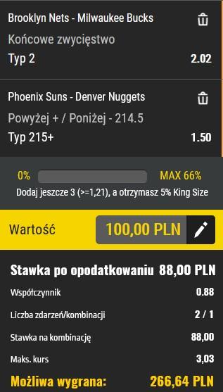 NBA kupon 07.06.21