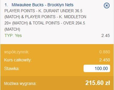 NBA kupon 17.06