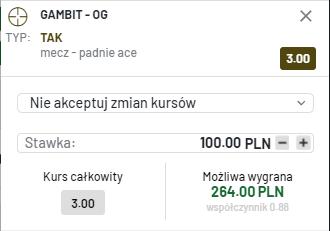 Kupon esport totalbet 13.06