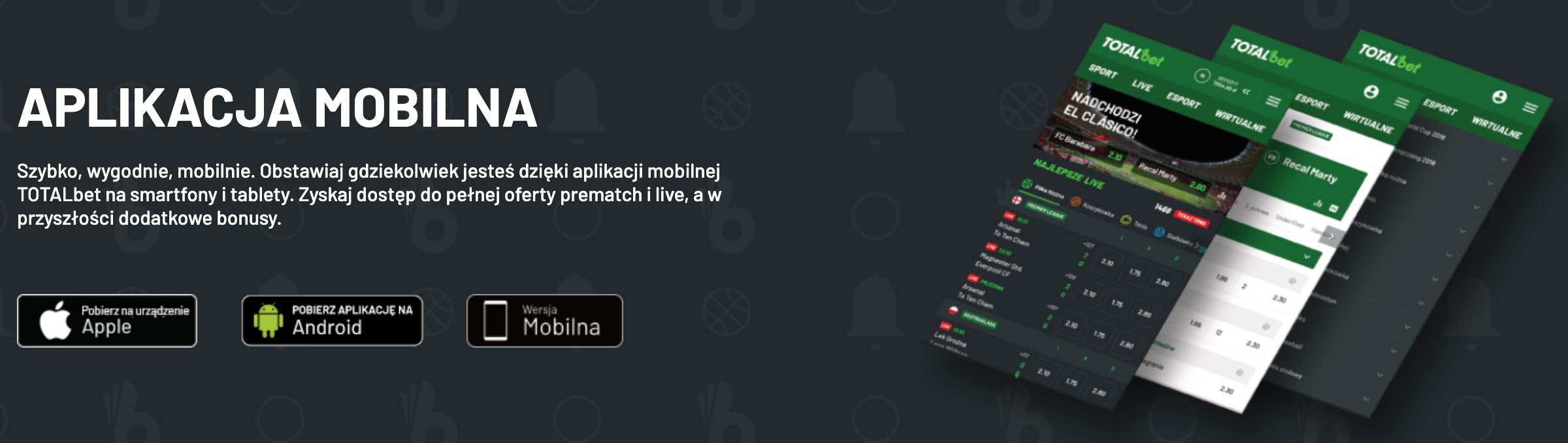 aplikacja totalbet