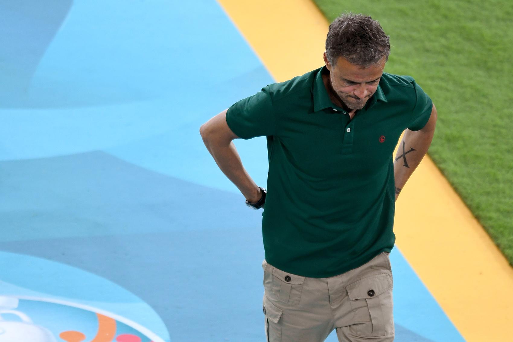 Enrique, trener hiszpanii
