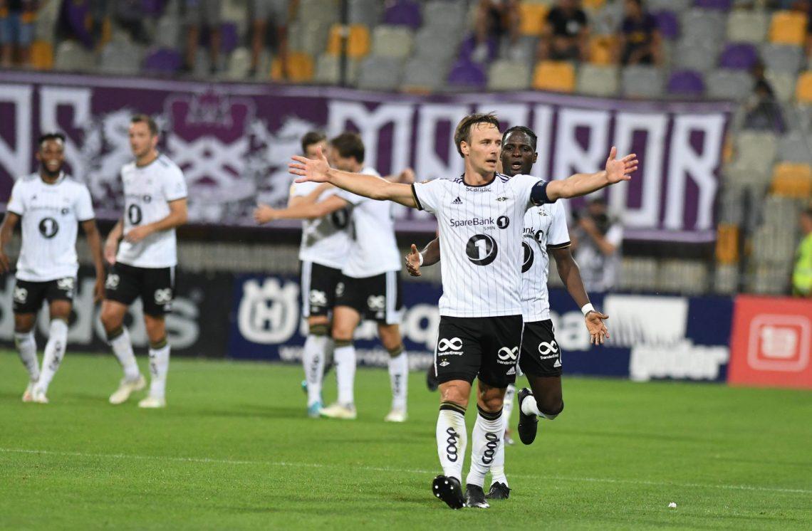 Piłkarze klubu Rosenborg BK