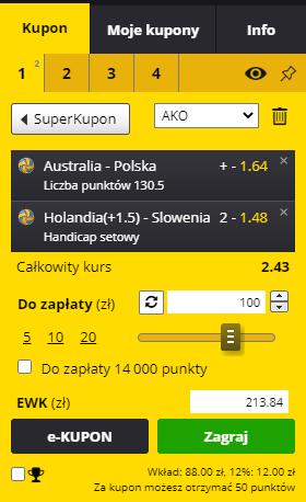 liga narodów siatkarzy dubel fortuna 3.06