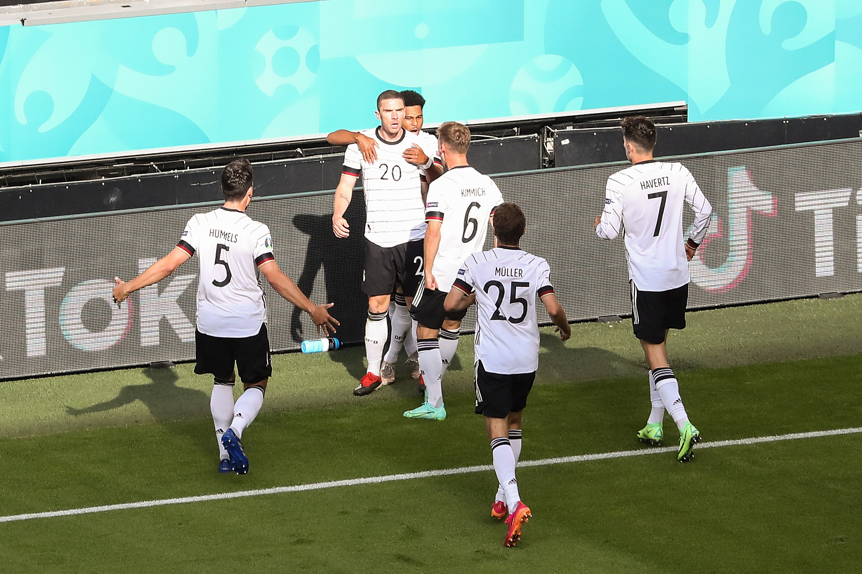 Niemcy po golu