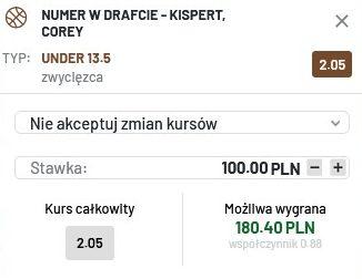 NBA Draft Kispert 29.07