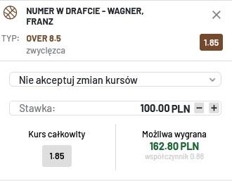 NBA Draft Wagner 29.07