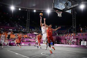 Polska vs CHiny basket 3x3 27.07