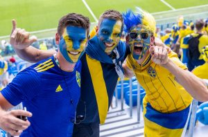Szwecja kibice
