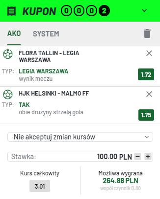 Totalbet Legia 27.07.