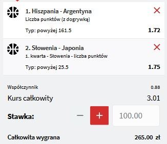 kupon koszykówka IO 28.07