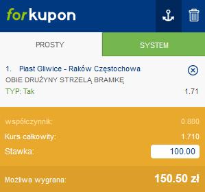 piast rakow btts