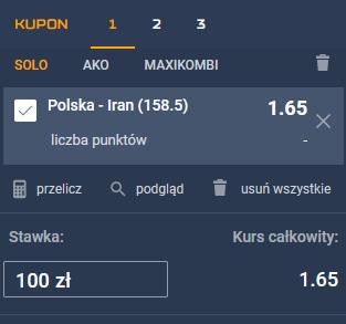 polska iran siatkowka punkty