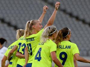 kadra kobiet Szwecji na IO