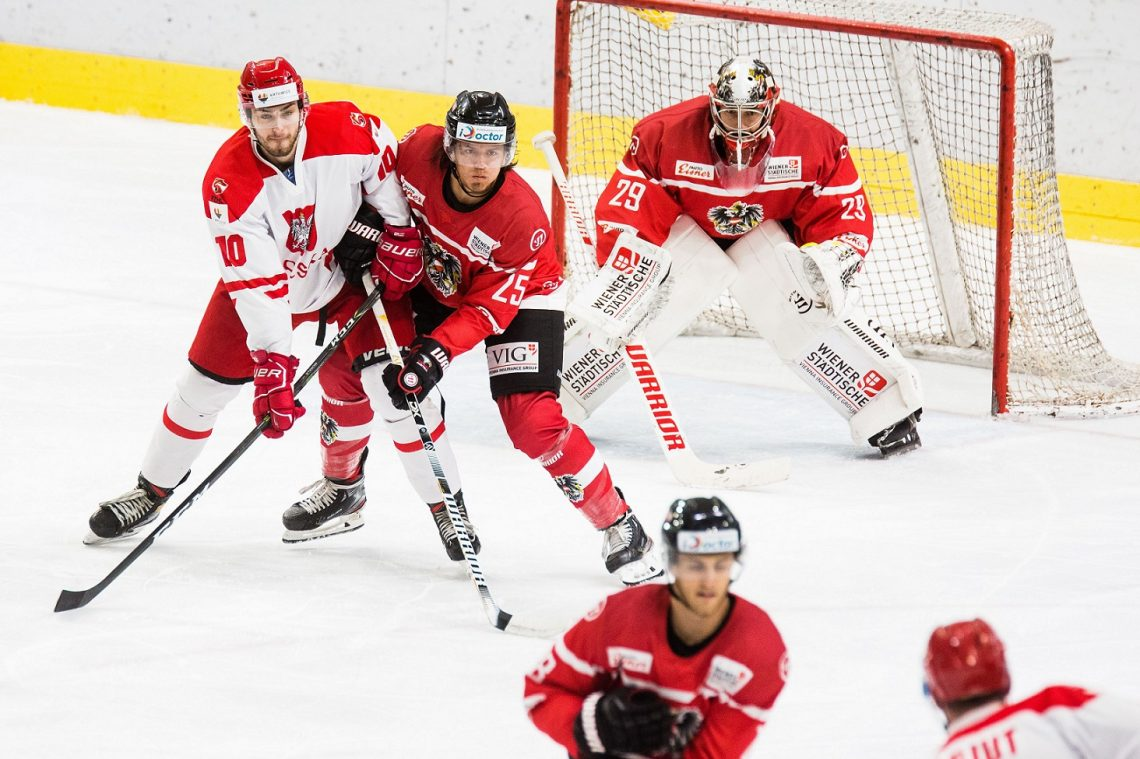 Polska Austria hokej na lodzie