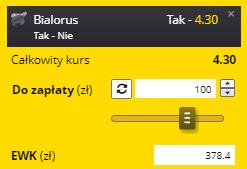 Hokej, długoterminówka Białoruś