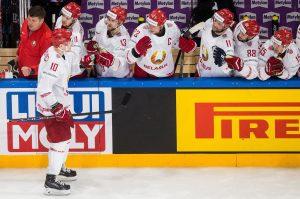 Białoruś hokej
