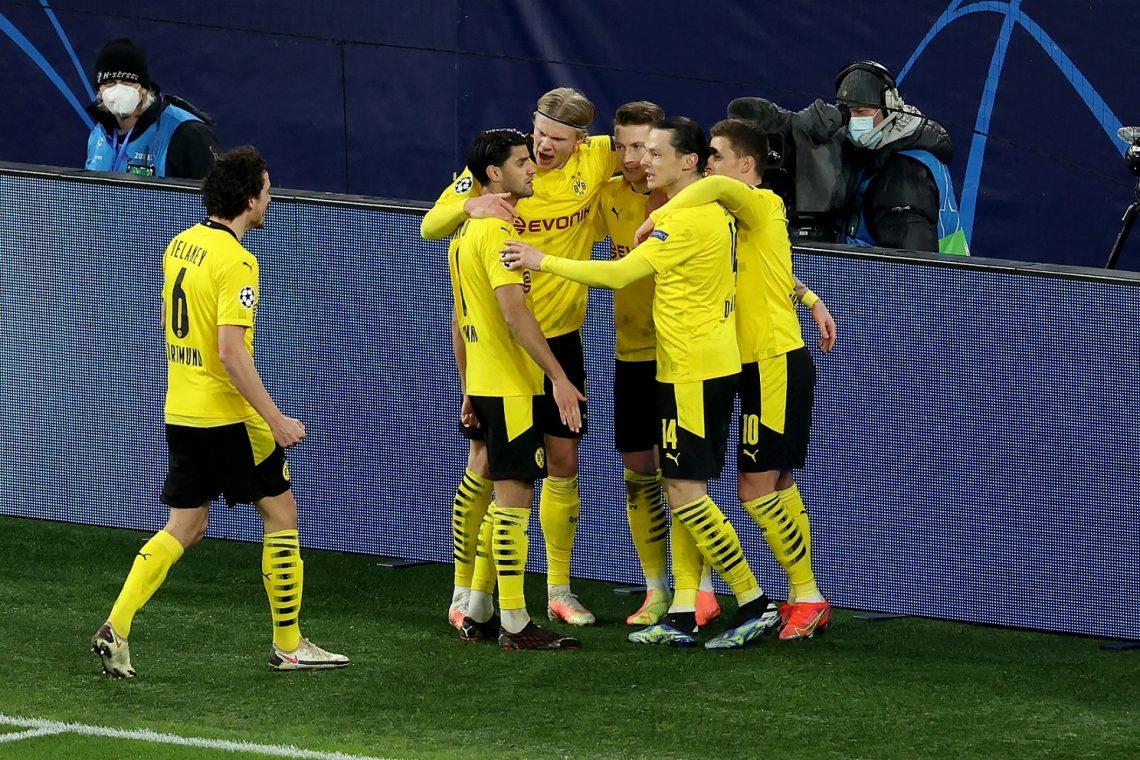 Borussia piłkarze