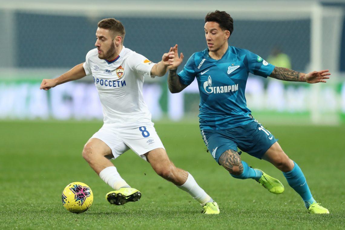 Zenit CSKA Rosja piłka