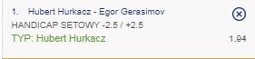 Hurkacz vs Gerasimov SEO 31.08.2021