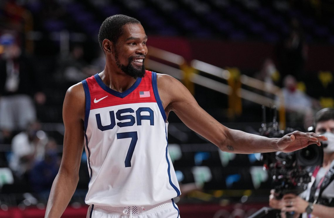 Kevin Durant USA 06.08.2021