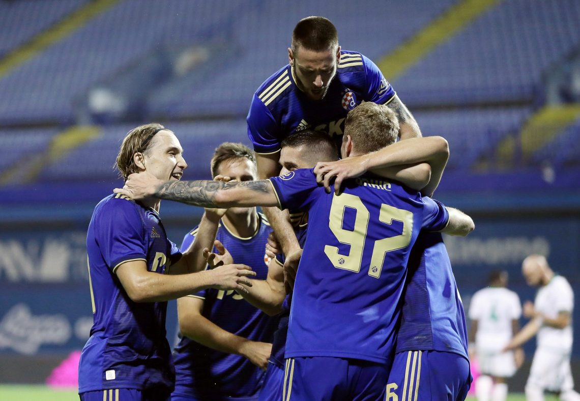 Dinamo Zagrzeb piłka